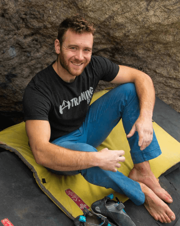 matt training climbing