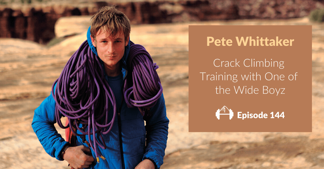 pete whittaker crack training