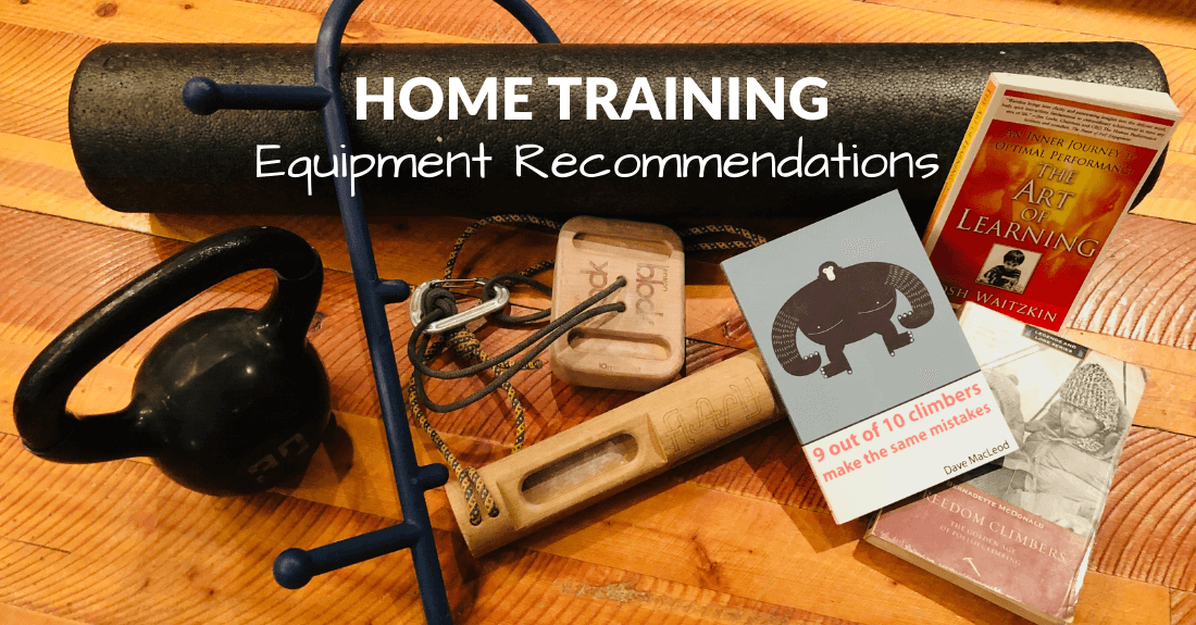 At Home Climbing Training Equipment