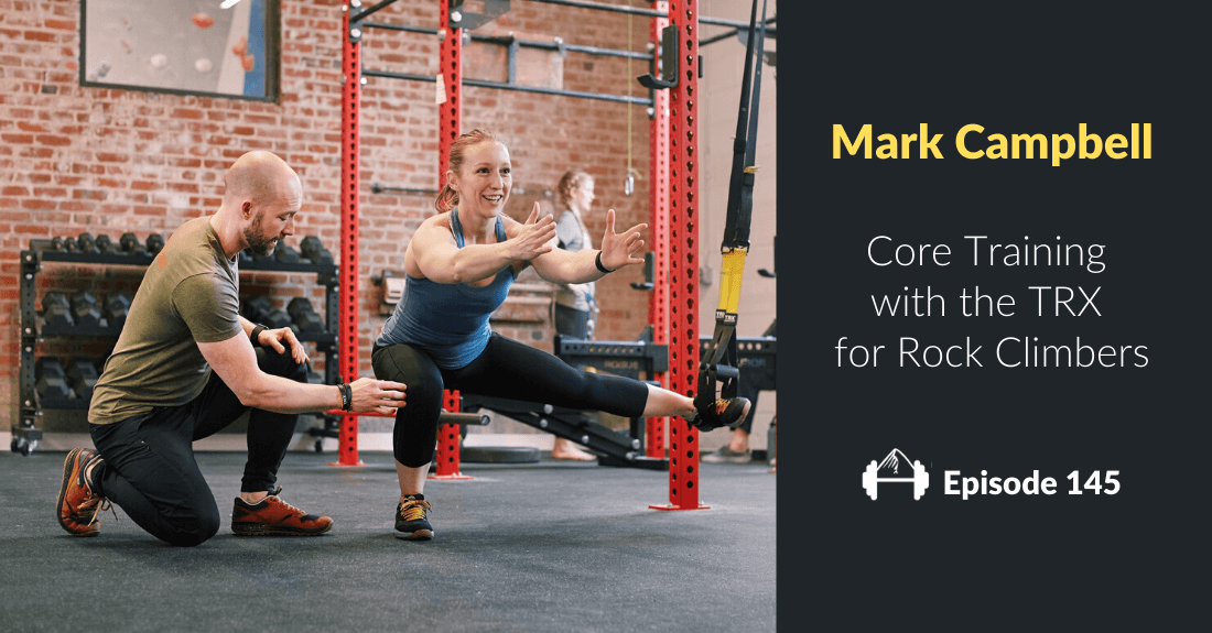 Mark Campbell TRX Training climbers