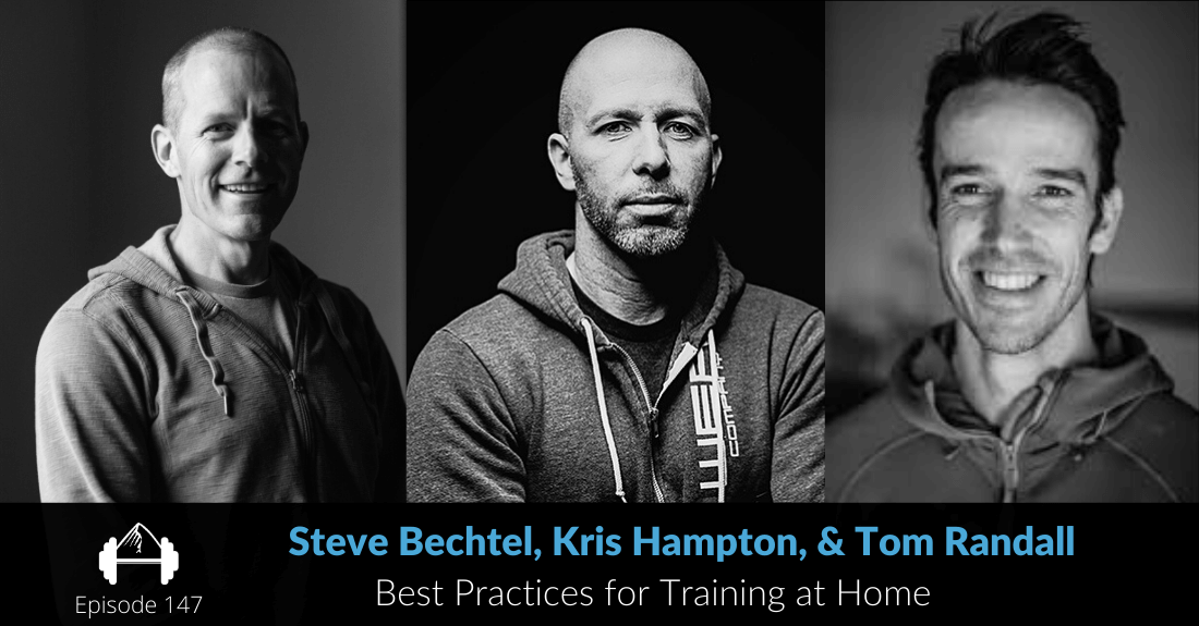 bechtel, hampton, randall on training at home