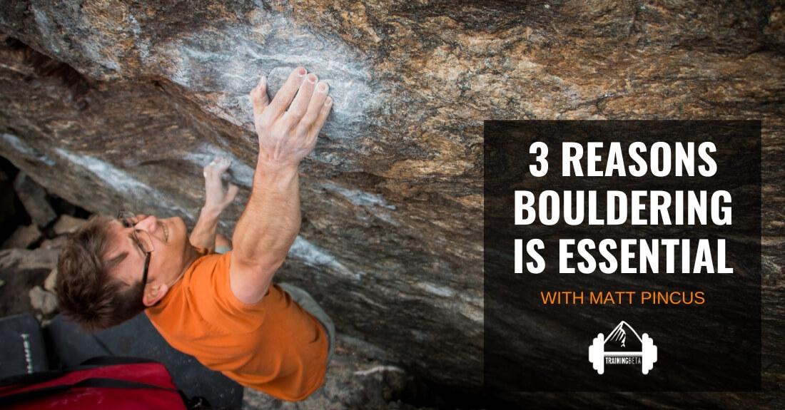 Bouldering Psychi-Boulder arrampicata